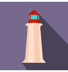 Peggy cove lighthouse nova scotia canada vector