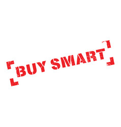 buy smart rubber stamp vector image vector image