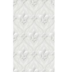 damask seamless pattern background elegant luxury vector image vector image