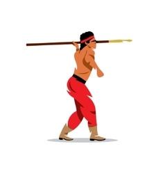 Injun cartoon vector