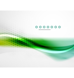 Business flowing wave vector