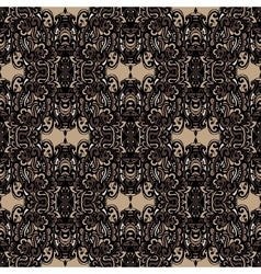 Seamless pattern orament backgernd vector