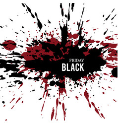 black-friday-grunge vector image
