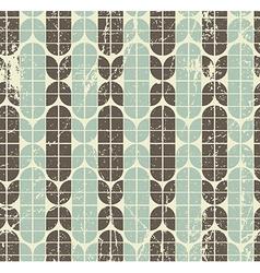 Colorful worn geometric seamless pattern vector