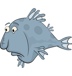 Deep-water fish vector image vector image