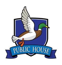 Mallard logo vector