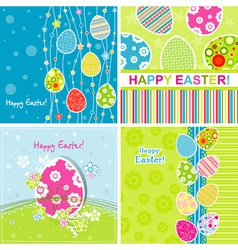 Template Easter greeting vector image vector image