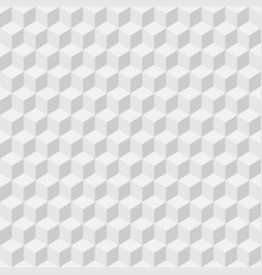 White seamless geometric texture background vector