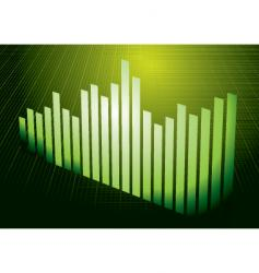 Green graph vector