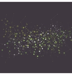 Network abstract technology background vector