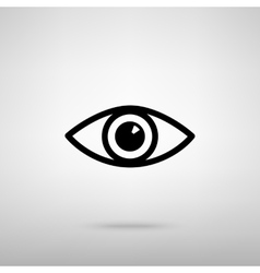 Eye sign vector