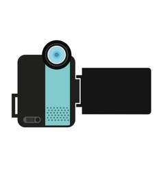 Camera video handy icon vector