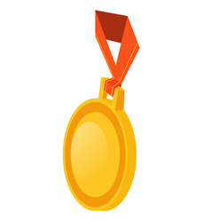 infographics medal on a white background vector image