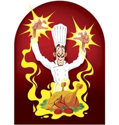 wonder cook vector image