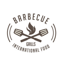 Bbq barbecue grills international food imag vector