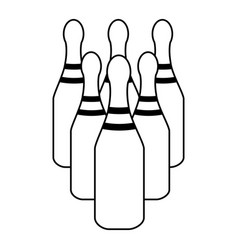 Bowling icon image vector