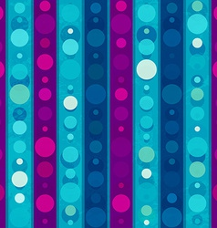 bright circles seamless patern vector image