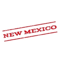 New Mexico Watermark Stamp vector image