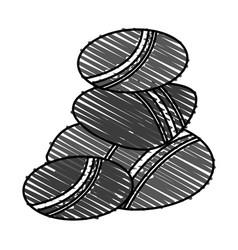 rocks vector image vector image