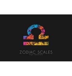 Zodiac scales logo scales symbol design creative vector