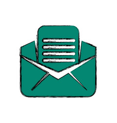 Email or mail symbol vector