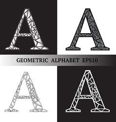 A geometric alphabet vector