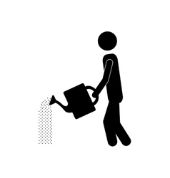 Watering icon image vector