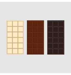 Chocolate seamless texture vector image