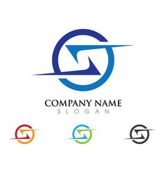 S letter logo design vector