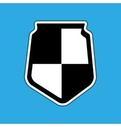 Shield icon design vector