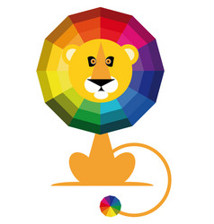Color spectrum paints vector