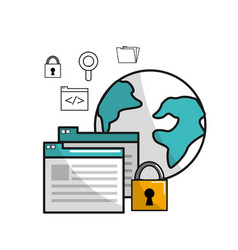 Global security information data connection vector