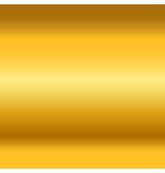 Gold texture horizontal vector image vector image