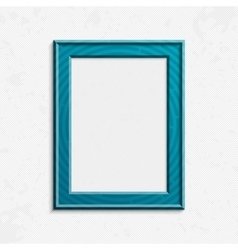 Modern photo frame vector image vector image