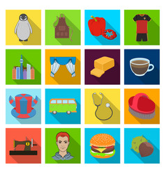 Restaurant nature fauna and other web icon in vector