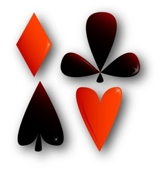 Suits of Cards vector image