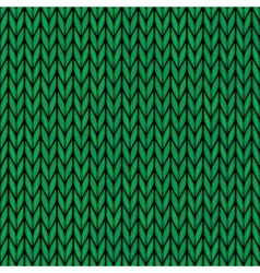 Handmade seamless knitted wool pattern vector