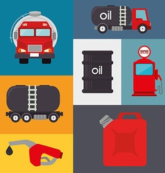 Petroleum design vector