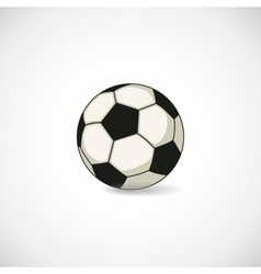 Football ball vector image