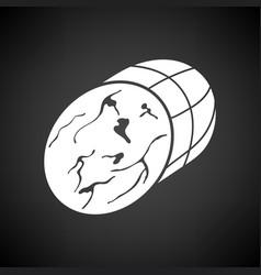 Ham icon vector