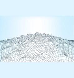 landscape geometry 012 A vector image