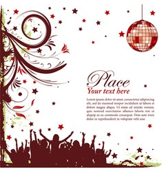 party frame vector image vector image