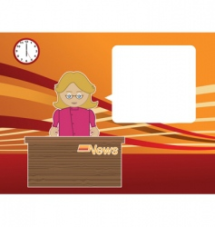 News reader vector