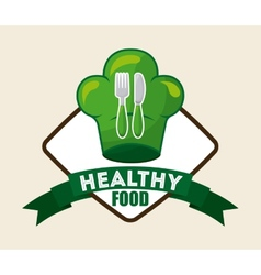 Healthy food vector