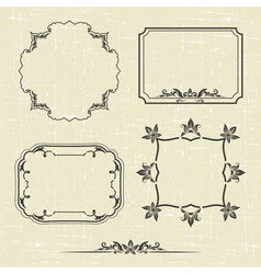 Patterned frame vector