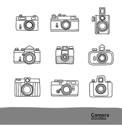 Camera doodles 2 vector