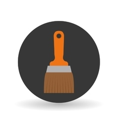 Paint brush tool design vector