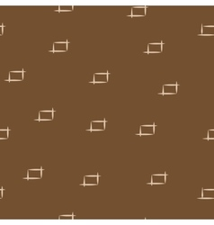 Rectangle beige seamless pattern vector