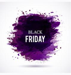 black-friday-violet vector image