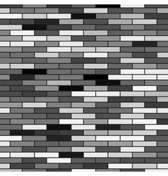 Grey Brick Background vector image